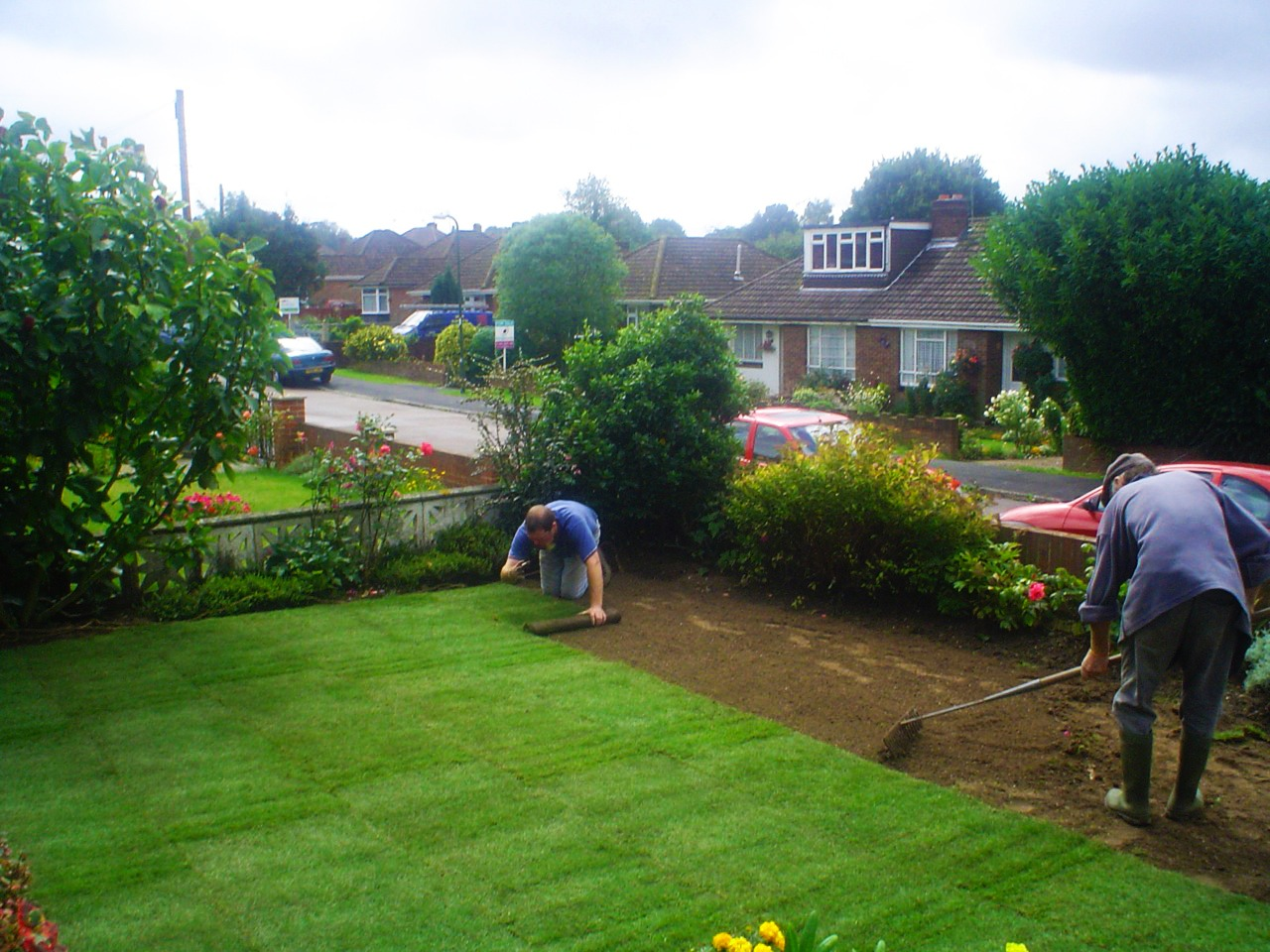 front garden project